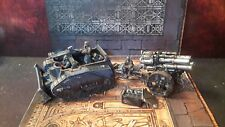 Death Korps of Krieg Centaur Artillery Tractor + Thudd Gun painted Warhammer 40k