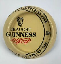 Rare Vintage Guinness Stout Beer MISPRINT Tin Advertising Ashtray Sign