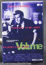 """Pump Up the Volume Movie Poster 2"""" X 3"""" Fridge / Locker Magnet. Christian Slater"""