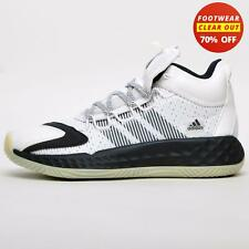 Adidas Pro Boost Mid Men's Basketball Court Shoes Retro Fashion Trainers White
