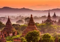 A3| Awesome Bagan Myanmar Poster Print Size A3 Ancient World Poster Gift #16381