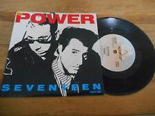 """7"""" Pop Power - Seventeen / In A World (2 Song) ARISTA REC"""