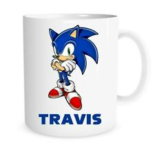 Sonic the Hedgehog Personalised Novelty Coffee Mug Birthday Christmas Gift