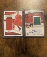 2020 Panini Immaculate Magnificent Martin Skrtel & Lazar Markovic Autograph
