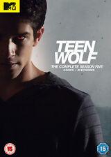 Teen Wolf Season 5 DVD Complete 5th Fifth MTV Series