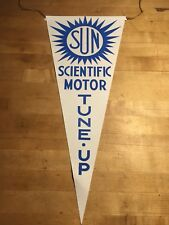 Sun Engine Tester Canvas Advertising Banner WHITE