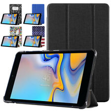 Exact  For Galaxy Tab A 8.0 Magnetic Smart Flip Trifold Stand Cover