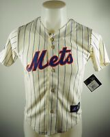 New York Mets Official MLB Majestic Kids Youth Size Matt Harvey Jersey New Tags