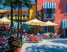 STOREFRONT ART PRINT Inn at Lake Garda Howard Behrens