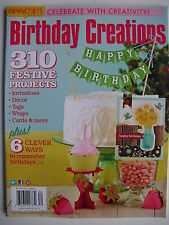 310 FESTIVE PROJECTS  2013 BIRTHDAY CREATIONS Cards Invitations Tags Wraps +More