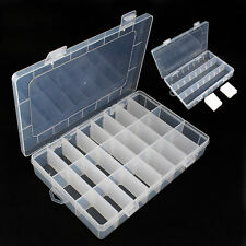 Plastic 24 Slots Jewelry Adjustable Tool Box Case For Cute Pack Loom