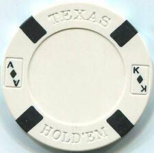 5 pc 5 colors Big Slick Texas Holdem poker chips sample set #5
