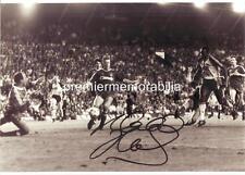 ARSENAL FC 1989 MICHAEL THOMAS SIGNED GOAL v LIVERPOOL
