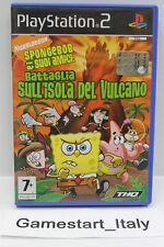 SPONGEBOB E I SUOI AMICI: BATTAGLIA SULL'ISOLA DEL VULCANO (PS2) - GIOCO USATO