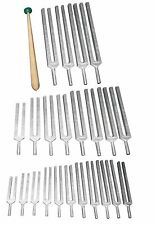23 Tuning Forks- 7 chakras + 11 Planetary + 5 Sharps