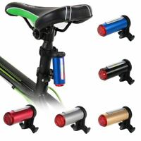 LED Warning Rechargeable USB Aluminum Bicycle Rear Bike Tail Light