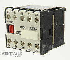AEG SH04-910-302-182-58 -16a 13E 4 Pole Mini Control Relay 110vac Coil Un-used
