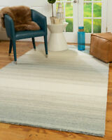 Bronte Hand Woven Modern Wool Area Throw Rug Carpet for Living Room