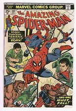 Amazing Spider-Man #140 And One Must fall Andru Art Bronze Age Key Fine