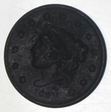 New Listing1837 Young Head Large Cent - Walker Coin Collection *844