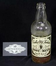 Vintage 1956 Owens Illinois Frostie Old Fashion Root Beer 12oz Soda Bottle - #10