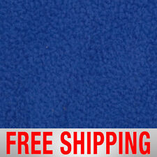Royal Blue Solid Fleece Fabric - Style# PTS14 - Free Shipping!!