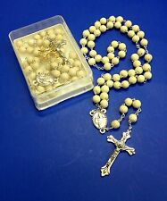 Original Jasmine Petals Scented Rosary-ITALY-Blessed by Pope upon request