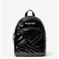 Michael Kors Abbey Mini Quilted Backpack Black