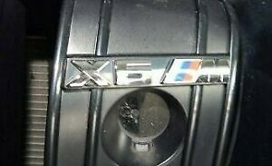 BMW OEM 2015-2019 F16 F86 X6 M Front Grille Emblem Sticker Badge Brand New