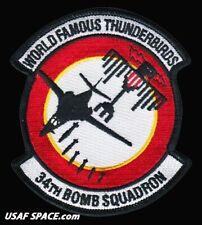 USAF 34TH BOMB SQUADRON - B-1 LANCER - Ellsworth AFB, SD - ORIGINAL VEL PATCH