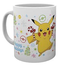 Pokemon Xmas Pikachu Gaming Anime Cup Tea Coffee Mug Mugs