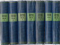 Ludwig Thoma Gesammelte Werke Band 1-7 / Erstausgabe von 1922ff.selten WG66