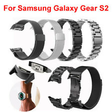 For Samsung Gear S2 SM-R720 & SM-R730 WristWatch Bands Stainless Steel Bracelet