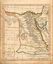 Ägypten - Egypt - Africa - Afrika - Karte - Map bei J. Walch 1820