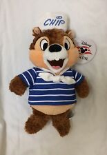 """BNWT Disney Cruise Line DCL Chip and Dale - Chip 10"""" Plush Doll"""
