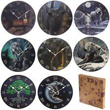 Fantasy Themed Wall Clocks .Wolf, Dragon, Cat, Life, Decorative Ornaments