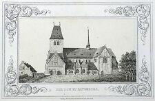 RATZEBURG - Dom - Lisch - Lithografie 1842-1845