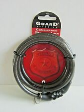 Guard Security Combination Security Lock 4 Digit #516 Bicycle Cable