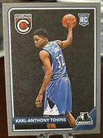 Karl-Anthony Towns 2015-16 Panini Complete Silver Rookie RC #303 Timberwolves 🔥