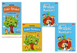 Wipe-Clean Arabic Alphabet /Arabic Number-Muslim Islamic Children Kids book Best