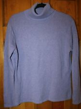 Talbots Cashmere Sweater Pullover Turtleneck Women's purple L