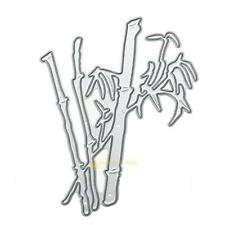 Bamboo Metal Cutting Dies Stencils DIY Scrapbooking Embossing Paper Card Craft