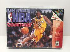 Nintendo N64 Kobe Bryant NBA Courtside Lakers New Mint Sealed