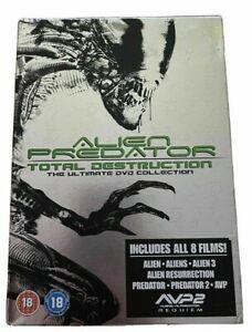Alien & Predator - Total Destruction (8 Disc DVD Set) The ultimate Collection