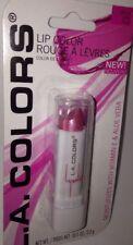L.A. Colors Lip Color Moisture Lipstick BLC4 *PINK FROST* w/Vitamin E & Aloe BN