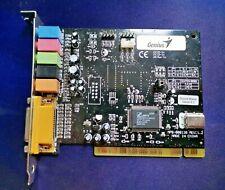 Genius Sound Maker Value 5.1 (CMI8738) PCI Sound Card - used