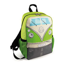 Backpack Small T1 Camper Van Bus Green Volkswagen VW Collection by BRISA BUBP13