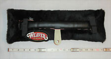 Nos Weaver Leather 17 3/4� Fleece Horse Carriage Driving Saddle Pad Made In Usa