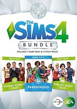 The Sims 4 Bundle Pack 9 (PC DVD) BRAND NEW SEALED PARENTHOOD/BOWLING/VINTAGE GL