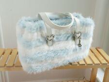 Samantha Thavasa fluffy faux fur hand shoulder bag purse